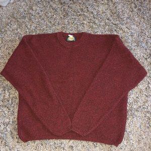 Red/Burgundy Sweater